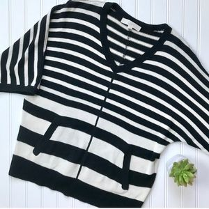 •LOFT• striped dolman sweater {F35}